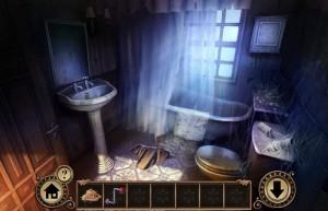 Побег От Наследства, ванная комната, умывальник, ванна
