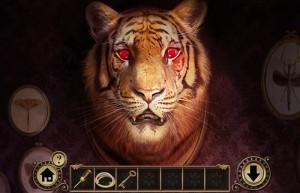 Побег От Наследства, чучело тигра