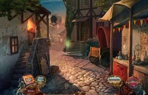 Придворные тайны: Аромат Желаний, улица, дома, лестница
