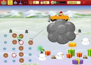 Finders Keepers Christmas, аркада, ловим подарки