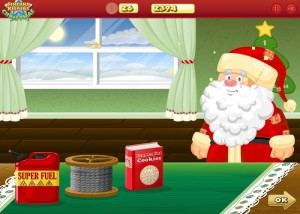Finders Keepers Christmas, аркада, дед мороз