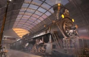 Запретные Тайны: Город Пришельцев, железнодорожный вокзал, старинный поезд