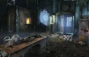 Запретные Тайны: Город Пришельцев, разрушенный дом, беспорядок, дверь