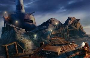 Загадочные Истории: Остров Потерянных Душ, заброшенный бункер, мостик