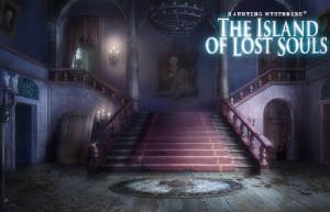Загадочные Истории: Остров Потерянных Душ, парадная лестница, старинный дом