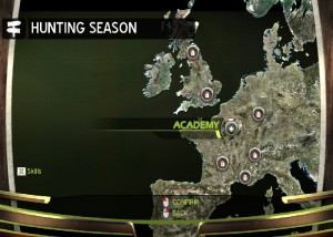 Hunter's Trophy 2: Europe, карта игры