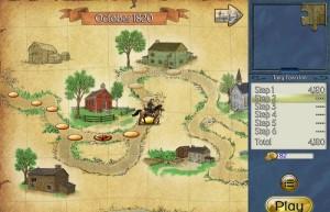 Jar of Marbles III: The Legend of Sleepy Hollow, три в ряд, карта игры