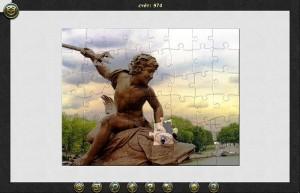 Пазл тур: Париж, собранный паззл