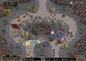 Kingdom Rush, стратегии, поле сражения