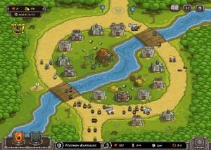 Kingdom Rush, стратегии, река, поле
