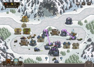 Kingdom Rush, стратегии, горы