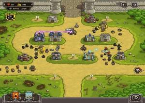Kingdom Rush, стратегии, сражение