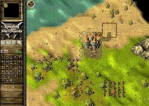 Knights and Merchants Remake, поле боя