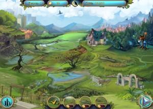 Сказочные Герои: Сохраним наш парк, карта действий по восстановлению парка