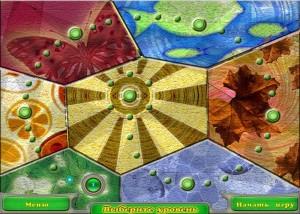 Волшебный чай, логические игры, выбор уровня