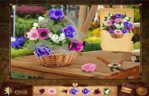 Сваха 2: Проклятие брошенной невесты, корзина с цветами, секатор