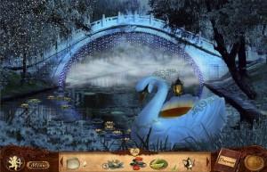 Сваха 2: Проклятие брошенной невесты, лебедь, озеро, мост