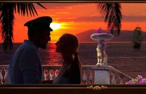 Сваха 2: Проклятие брошенной невесты, закат, влюбленная пара