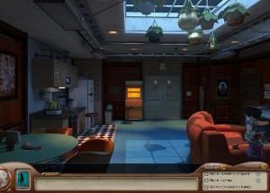 Нэнси Дрю: Смертоносное Устройство, комната отдыха в лаборатории