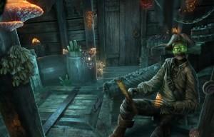 Кошмары из глубин : Проклятое сердце, трюм, скелет пирата
