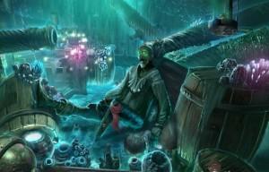Кошмары из глубин : Проклятое сердце, кристаллы, скелет пирата