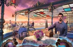 Не для печати 2: Итальянский Роман, итальянское кафе, столики, шкатулка