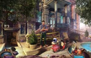 Не для печати 2: Итальянский Роман, опечатанный вход в дом, бассейн, молодой человек
