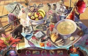 Не для печати 2: Итальянский Роман, найди предмет по очертанию, накрытый стол