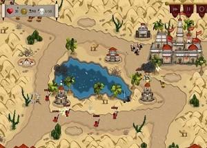 Rush on Rome, стратегии, башни, озеро
