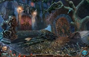 Сакра Терра 2: Поцелуй смерти, дворец, дверь, дерево