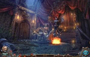 Сакра Терра 2: Поцелуй смерти, большой зал, лестница, дверь