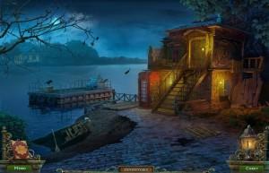 Штрига: Летний Лагерь, паром на озере, домик, дырявая лодка