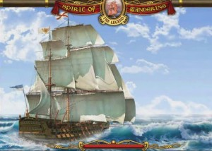 Легенды Странствий: Начало, красивый корабль, парусник, море