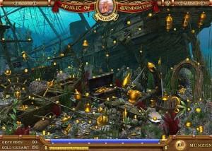 Легенды Странствий: Начало, затонувший корабль, под водой