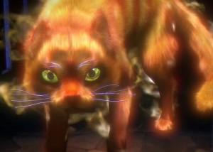 Тайны Духов: Темный Минотавр, рыжий кот
