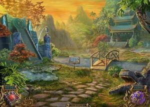 Тайны Духов: Темный Минотавр, сад, пагода