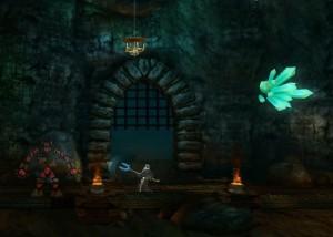 Stained, пещера, темнота, кристаллы