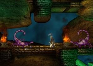 Stained, пещера, скорпионы, огонь
