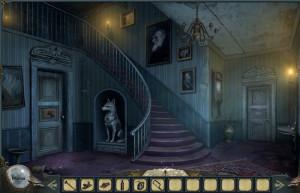 Проклятие оборотней, старый дом, лестница на второй этаж