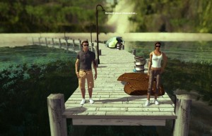 The Good Life, симулятор, пара на мостике
