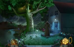 Тайны Времени: Механизм Света, дом у реки, ночь, незнакомец