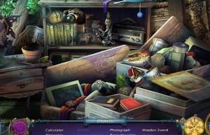 Тайны Времени: Механизм Света, сцена поиска предметов