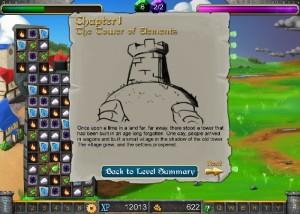 Tower of Elements, карта игры