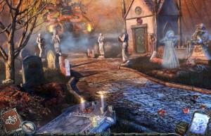 Гиблые земли 3 : Истоки, городское кладбище, склеп, статуи