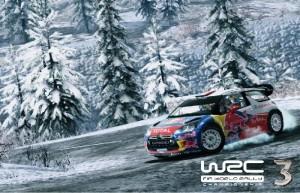 WRC 3: FIA World Rally Championship, ралли зимой