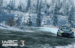 WRC 3: FIA World Rally Championship, гонки на трассе