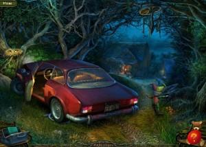 Парк Ужасов 2: Жуткие Сказки, машина на обочине, лес