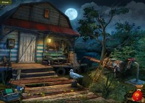 Парк Ужасов 2: Жуткие Сказки, рыбацкий домик, сеть, чайка