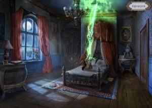 Охотники на ведьм 2: Обряд полнолуния, спальня, злобный гном