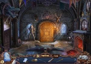 Охотники на ведьм 2: Обряд полнолуния, старинный замок, рыцарь, камин